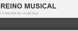 Pequeño banner de presentación y encabezado del sitio Reino Musical.